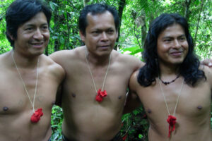 Ecuador, Amazon, Shuar indigenous WEB