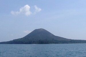 Indonesia, Mt. Krakatau WEB