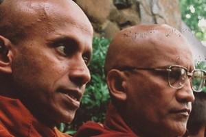 (L-R) Bhante Kondanna, Siriratana, Pannyatissa
