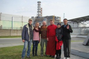 Photo 2 Peace Vase Report Ukraine # 2 Participants & Chernobyl Atomic Station