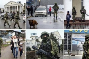 Photo Military Invasion Crimea