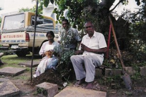 Fiji, VL, Krishna Peace Vase 4a, people