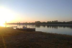 Belarus, Mazyr 2015-06-22 The Prypiac River Sunset 1