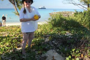 Ashore at egg Island